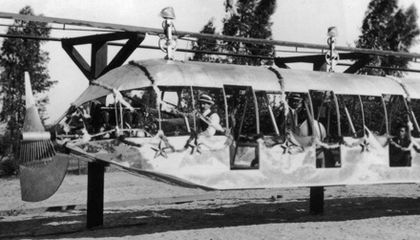 Burbank's Aerial Monorail of the Future