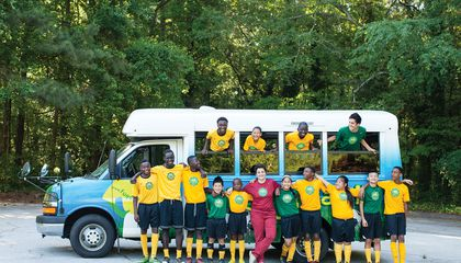 How Soccer Is Changing the Lives of Child Refugees