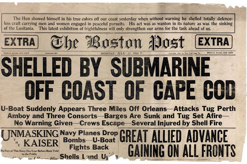 How a Tiny Cape Cod Town Survived World War I's Only Attack on
