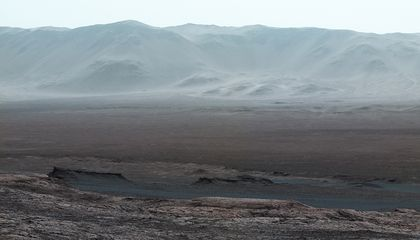 A Biological Solution to the Mystery of Methane on Mars