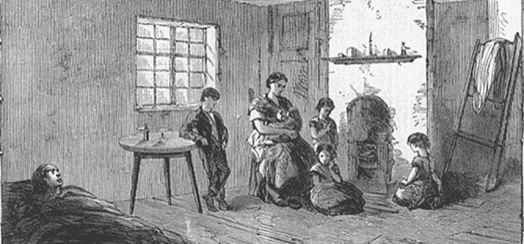 Caption: Discovering the Poetry of the U.K.'s Cotton Famine