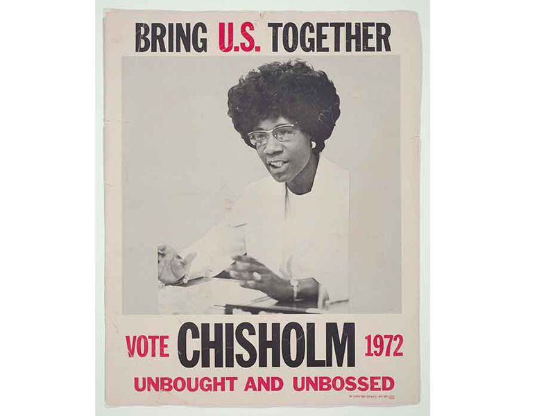 Shirley Chisholm Campaign Poster