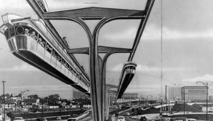 Nobody Walks in L.A.: The Rise of Cars and the Monorails That Never Were