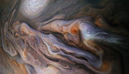 Juno's Latest Photo of Jupiter Is Breathtaking