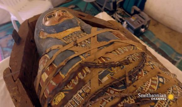 Preview thumbnail for video'New Discoveries at Saqqara