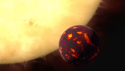 Hubble Gets a Whiff of Super-Earth Atmosphere For The First Time