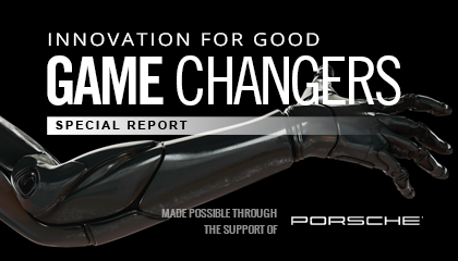 Game Changers: Innovation For Good