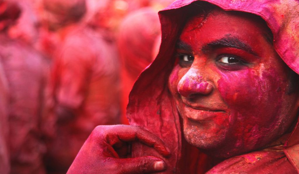 Red is the color of weddings, life and festivals.