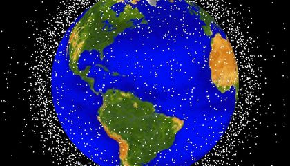 Scientists Want to Use Lasers to Shoot Down Space Junk