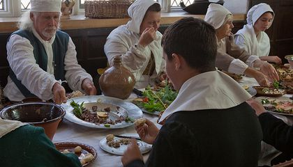 Renaissance Table Etiquette and the Origins of Manners