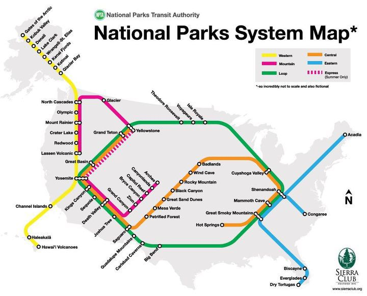 Subway Map Javascript.How Many Stops Have You Made On The National Parks Subway Smart