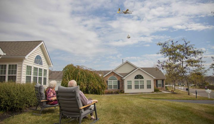 This Drone Made The First Home Delivery in the U.S