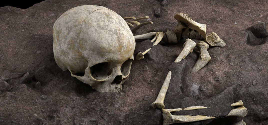 Caption: Oldest Known Human Grave in Africa Discovered