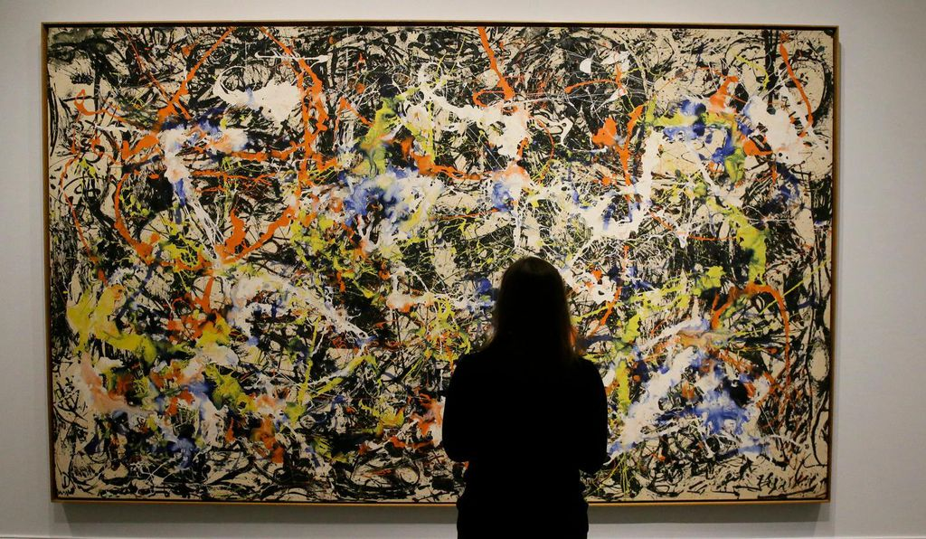 Are fractals the key to why Pollock's work captivates?
