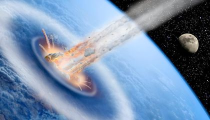 Did a Comet Set Off Global Warming 56 Million Years Ago?