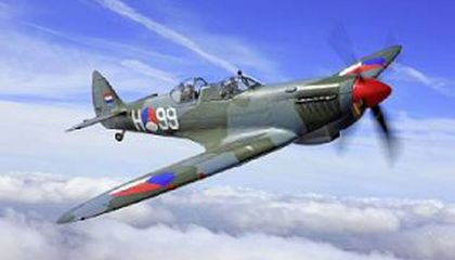 Spitfire Sees Wartime Service Again—A Bidding War