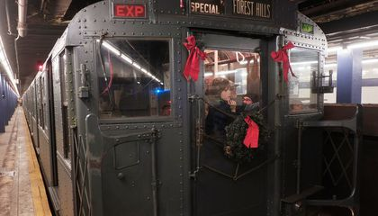 New York City's Holiday Vintage Subway Trains Are Back