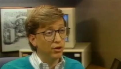 "1987 Predictions From Bill Gates: ""Siri, Show Me Da Vinci Stuff"""