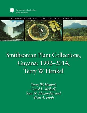 Smithsonian Plant Collections, Guyana: 1992–2014 photo