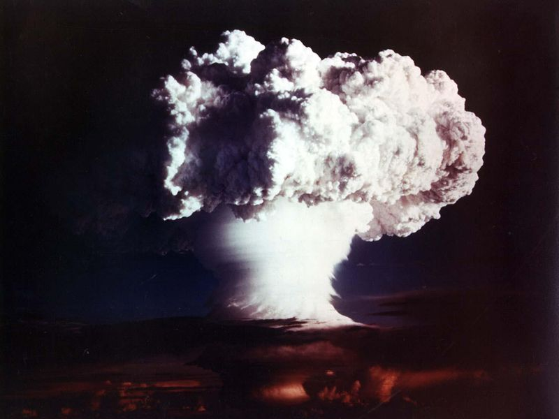 Image result for the u.s. explodes the first hydrogen bomb