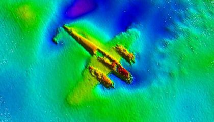 Rare WWII Bomber Raised from English Channel
