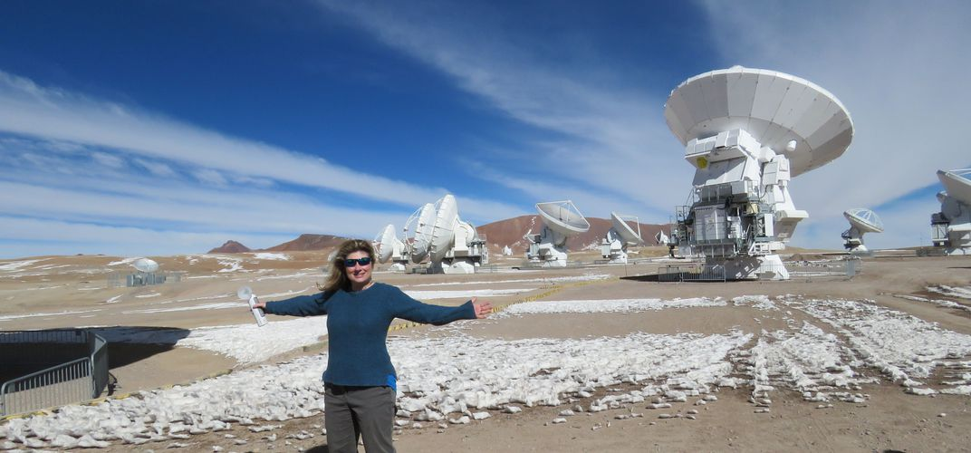Expert Michelle Thaller at Atacama Observatory