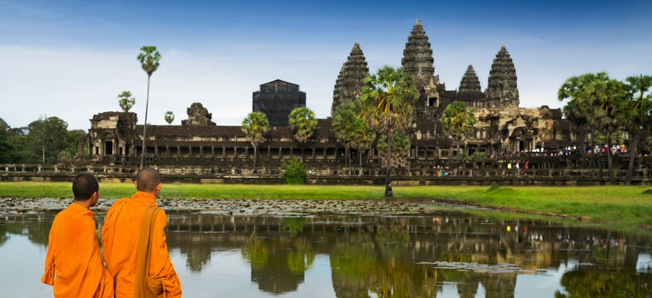 Singapore, Thailand, and Angkor Wat  <p>Take an exotic journey to Southeast Asia, traveling through breathtaking landscapes that showcase ancient histories, diverse cultures, and many World Heritage sites. Plus, experience the Golden Age of train travel aboard the elegant <em>Eastern and Oriental Express</em>.</p>