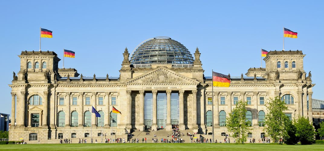 The Reichstag, Parliament Building, Berlin