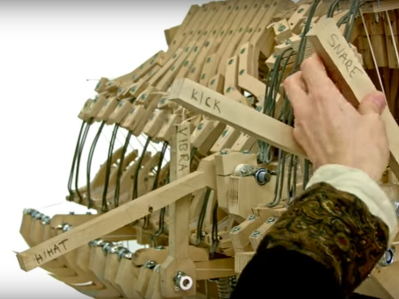 This Machine Makes Music With Marbles | Smart News | Smithsonian