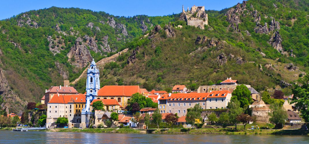The village of Durnstein, along the Wachau Valley, Austria