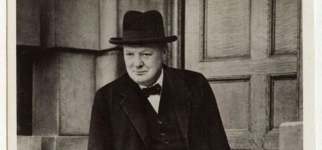 Portrait of Winston Churchill, circa 1939. Credit: @National Portrait Gallery, London