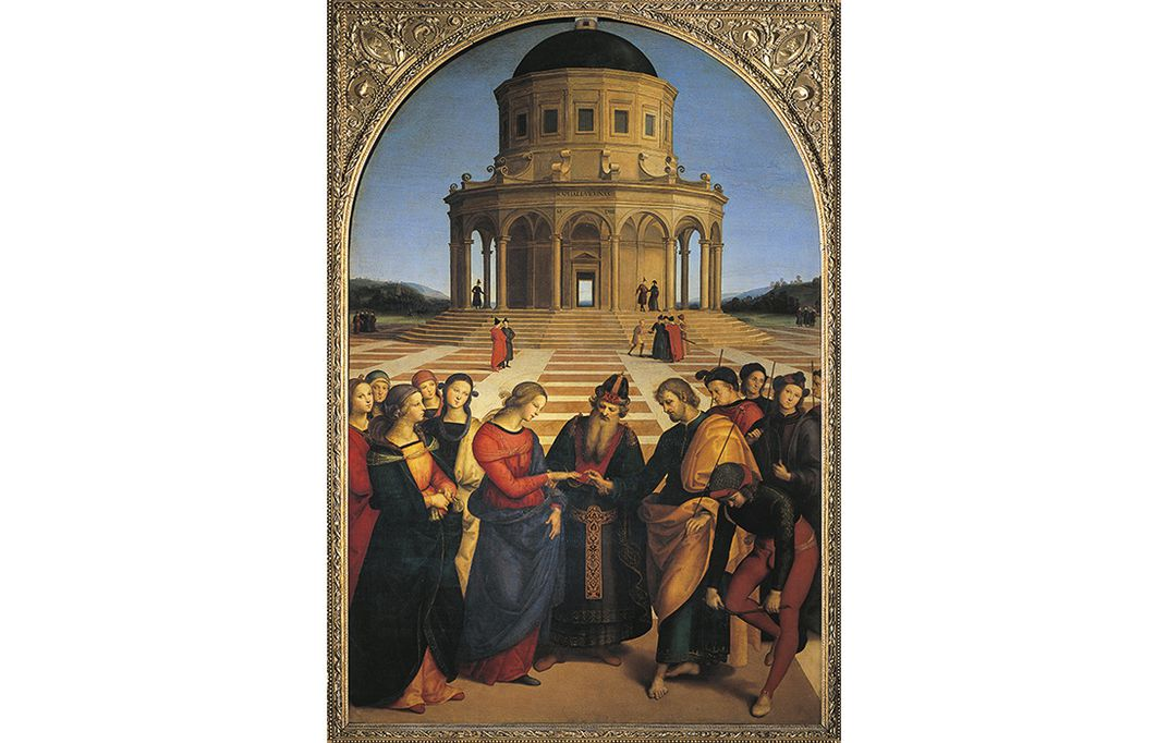 How the monuments men saved italys treasures history smithsonian raphaels renaissance masterpiece marriage of the virgin 1504 was stored in the vatican until rome was liberated de agostini getty images gumiabroncs Images