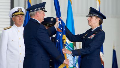 General Lori Robinson Takes Charge of the Pacific as Air Force's First Female Major Command Leader