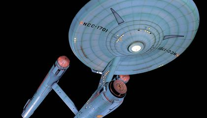 How Big is the Starship Enterprise?