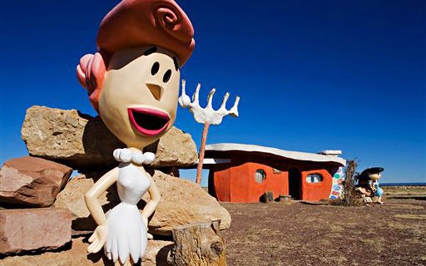 Wanna buy The Flintstones home?