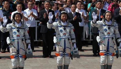 The Flight of Shenzhou-9