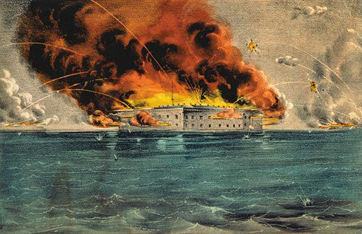 Fort Sumter: The Civil War Begins | History | Smithsonian
