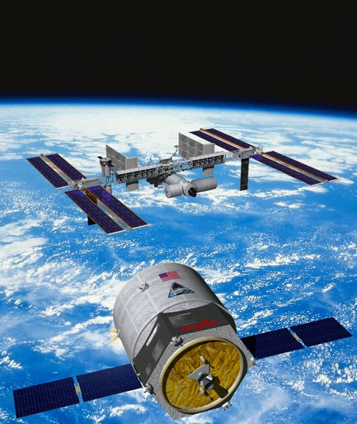 NASA picks a second contender to supply the International Space Station after the shuttle retires.
