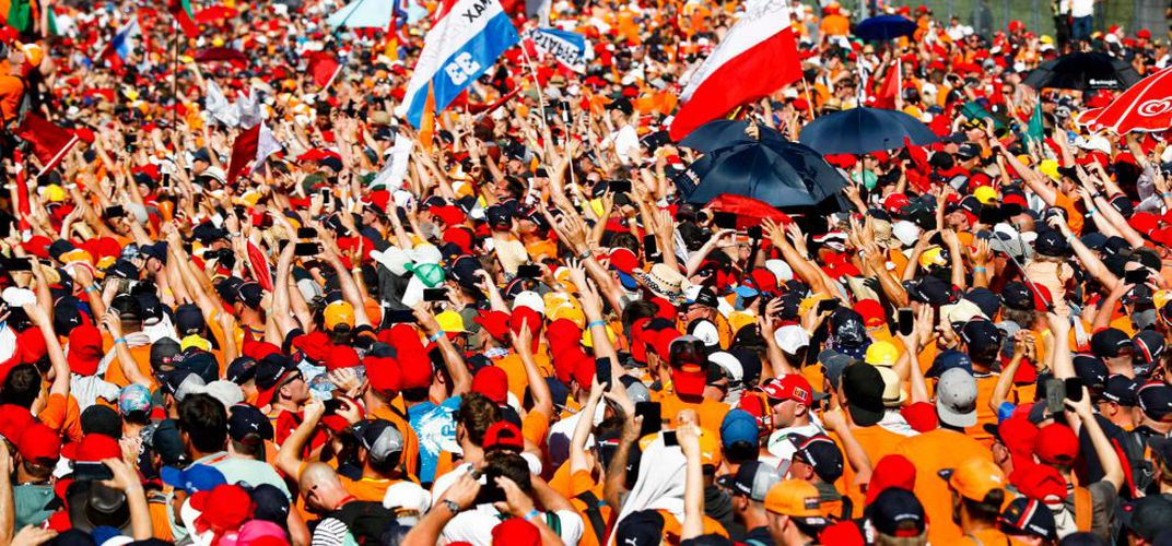 Crowd at the 2019 Austrian Grand Prix. Credit: Formula 1