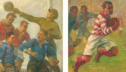 Jean Jacoby Study of sport