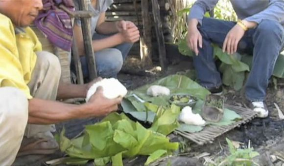 Preview thumbnail for video'Sticky Rice in Laos
