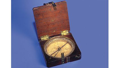 Maritime Compasses Lovely Lewis And Clark Compass By Authentic Model Long Performance Life
