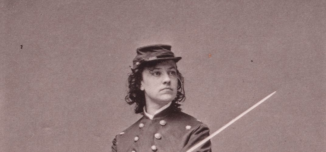 Caption: The Actress Who Became a Civil War Spy
