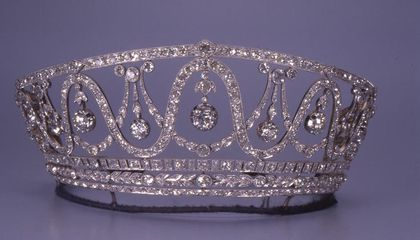 Ornate Tiara, Once Worn by a Grand Duchess, Stolen From German Museum