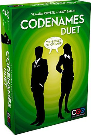 Preview thumbnail for 'Codenames: Duet - The Two Player Word Deduction Game
