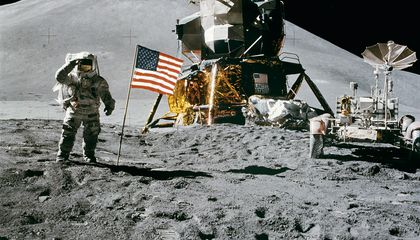 Astronauts' Footprints May Have Warmed the Moon