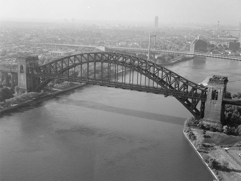 The Hell Gate Bridge