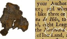 Rare Scraps of Paper Unearthed in the Sludge of Famed Pirate Ship