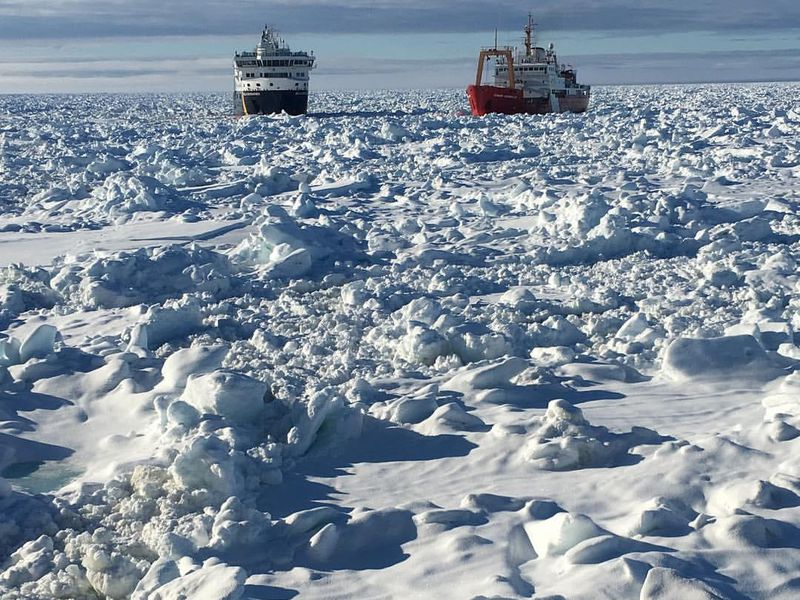 Climate Change Effects: Dangerous Arctic Ice Conditions Cancel Environment Science Research Trip