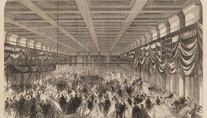 When Was the First Inaugural Ball?